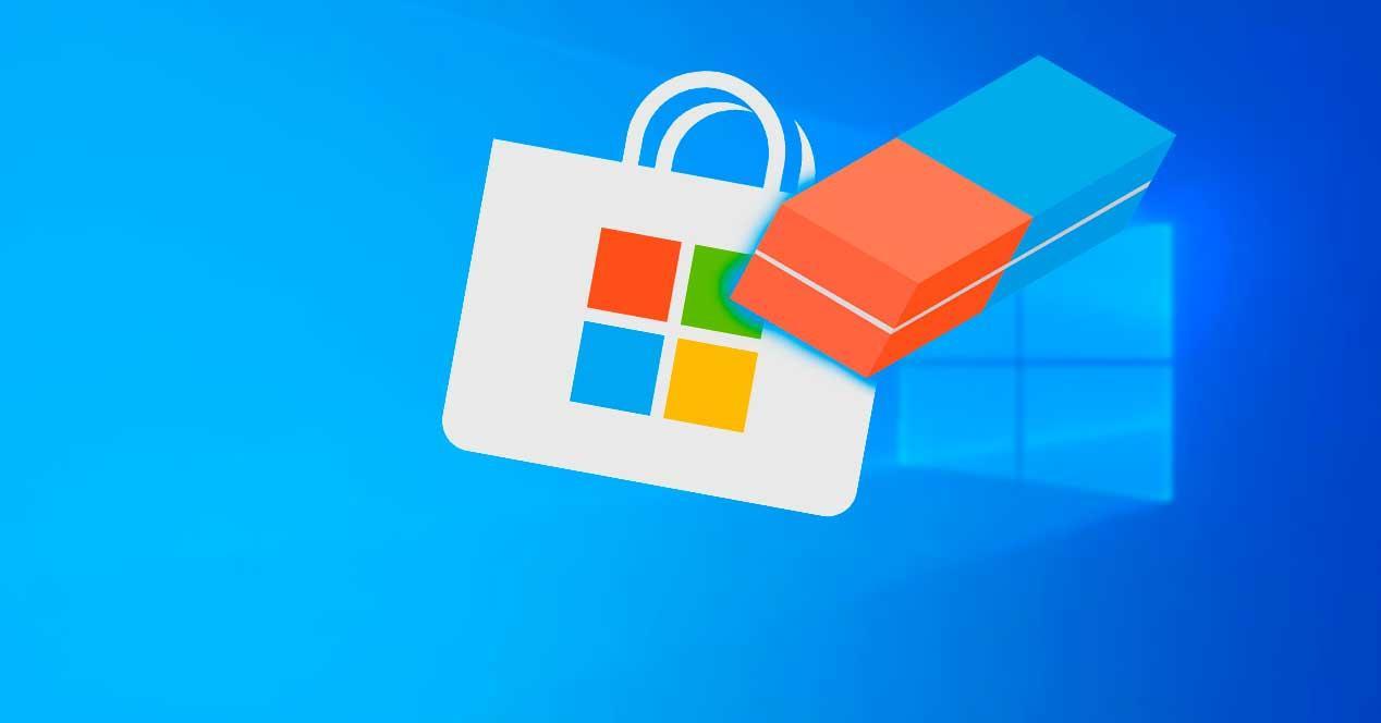Borrar Microsoft Store