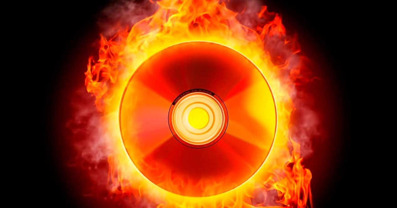 Grabar CDs a fuego