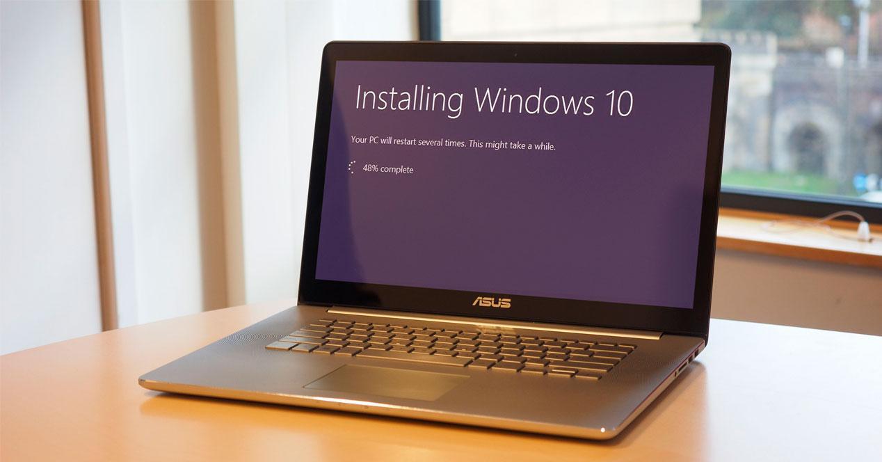 Instalando Windows en portátil