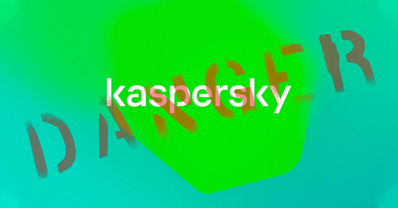 Peligro Kaspersky antivirus