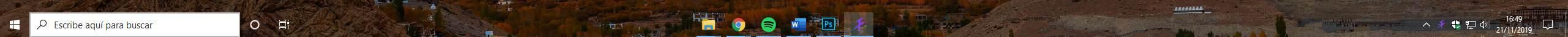 Personalizar barra de tareas Windows 10 - 1