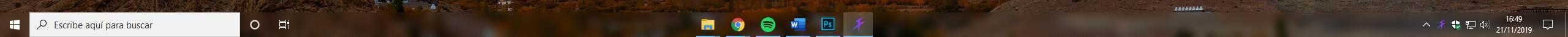 Personalizar barra de tareas Windows 10 - 2