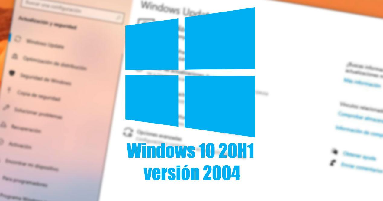 Windows 10 20H1 versión 2004