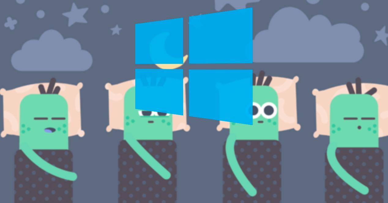 Windows 10 suspender encenderse