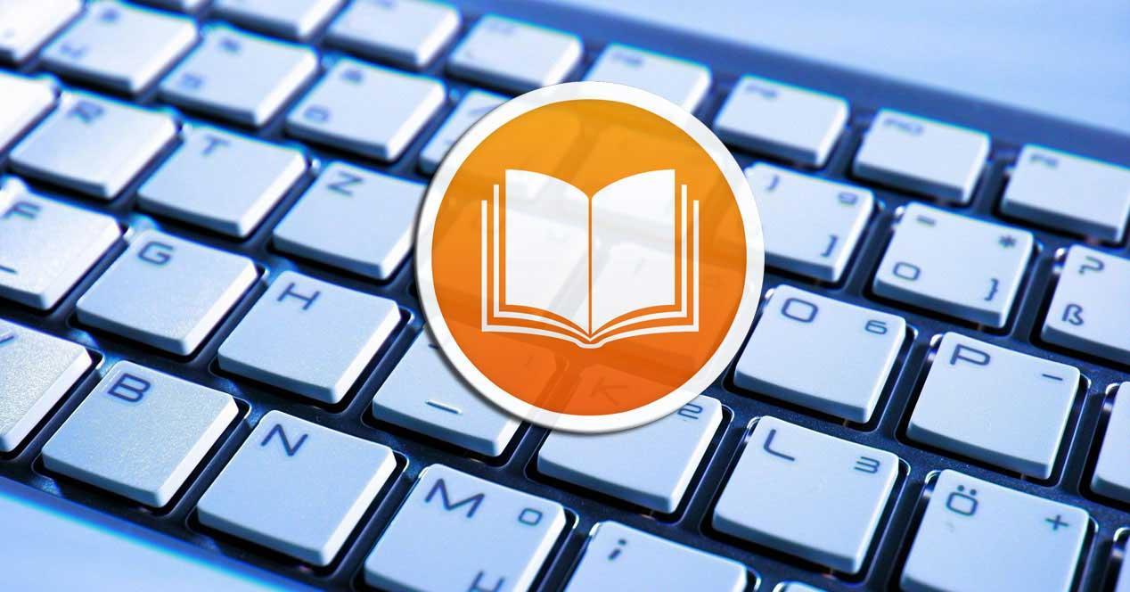 Atajos de teclado ebooks