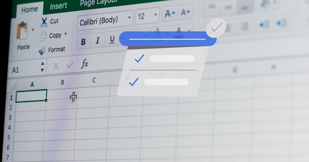 Excel celdas nombres