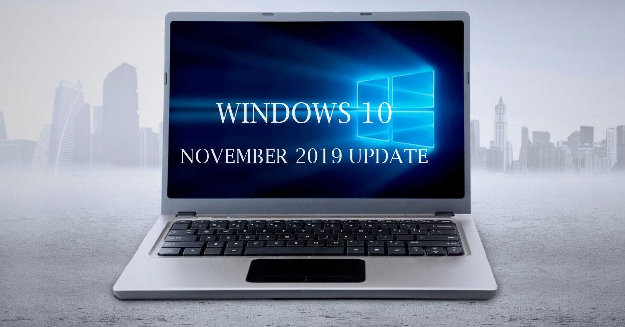 Cómo desinstalar Windows 10 November 2019 Update