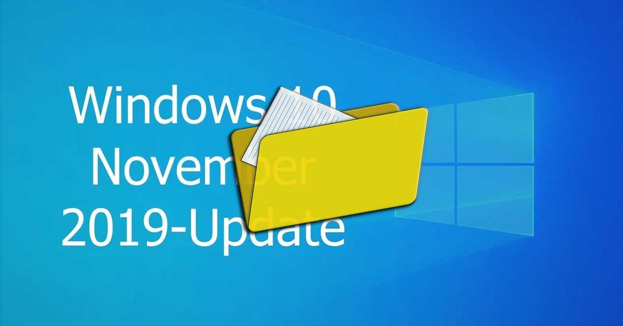 Windows 10 1909 explorador
