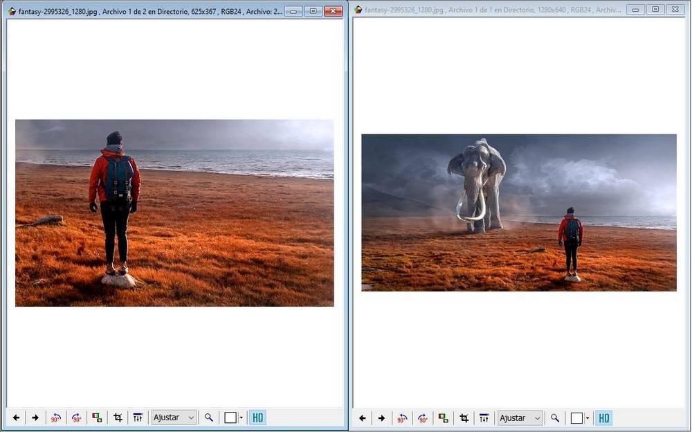 FreeVimager recortar imagenes