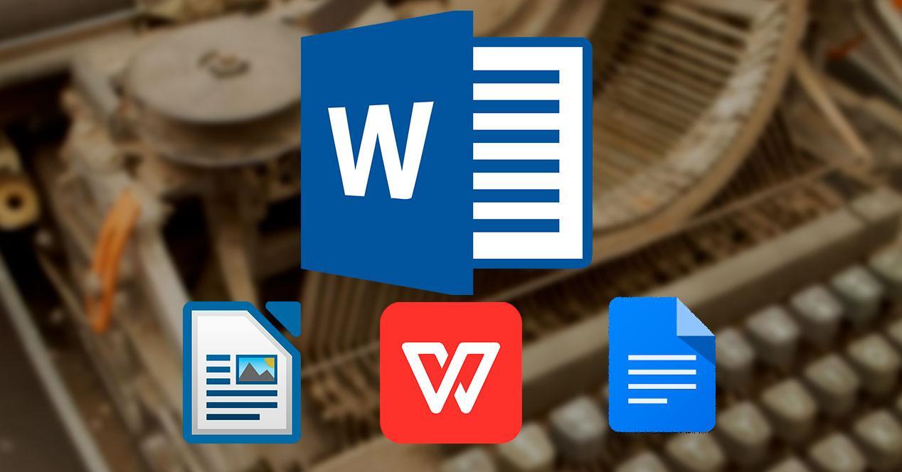Alternativas Word procesador Textos