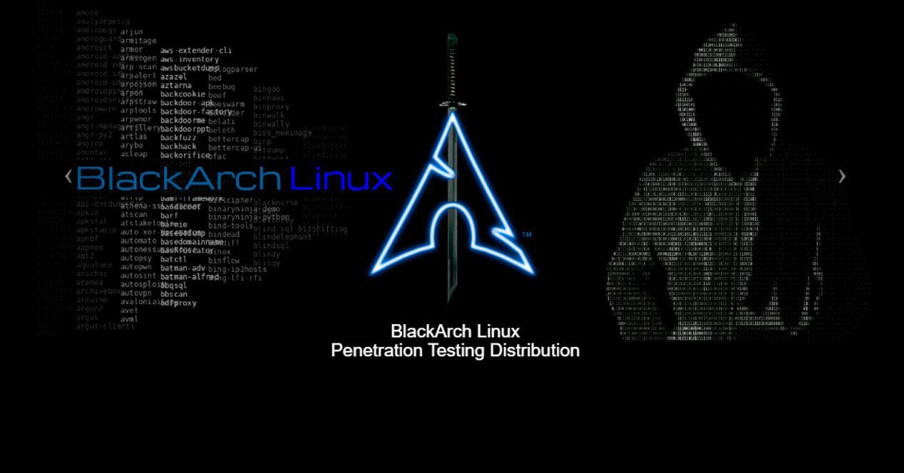 BlackArch Linux Hacking ético