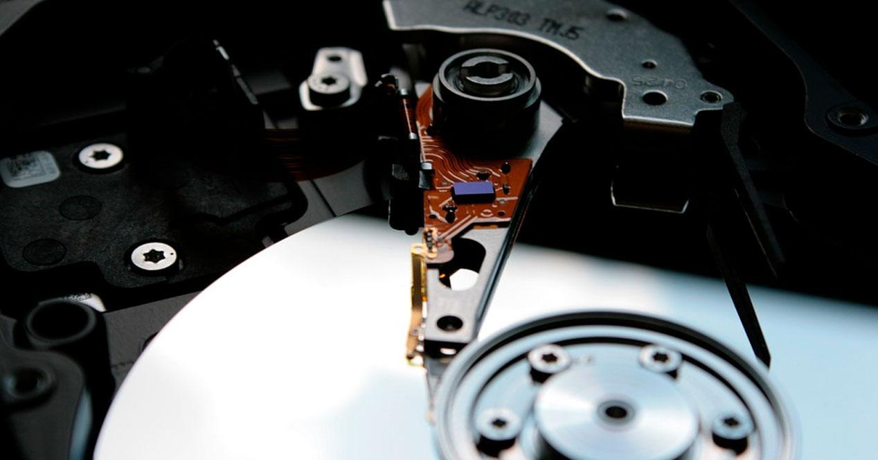 Cabezal de disco duro
