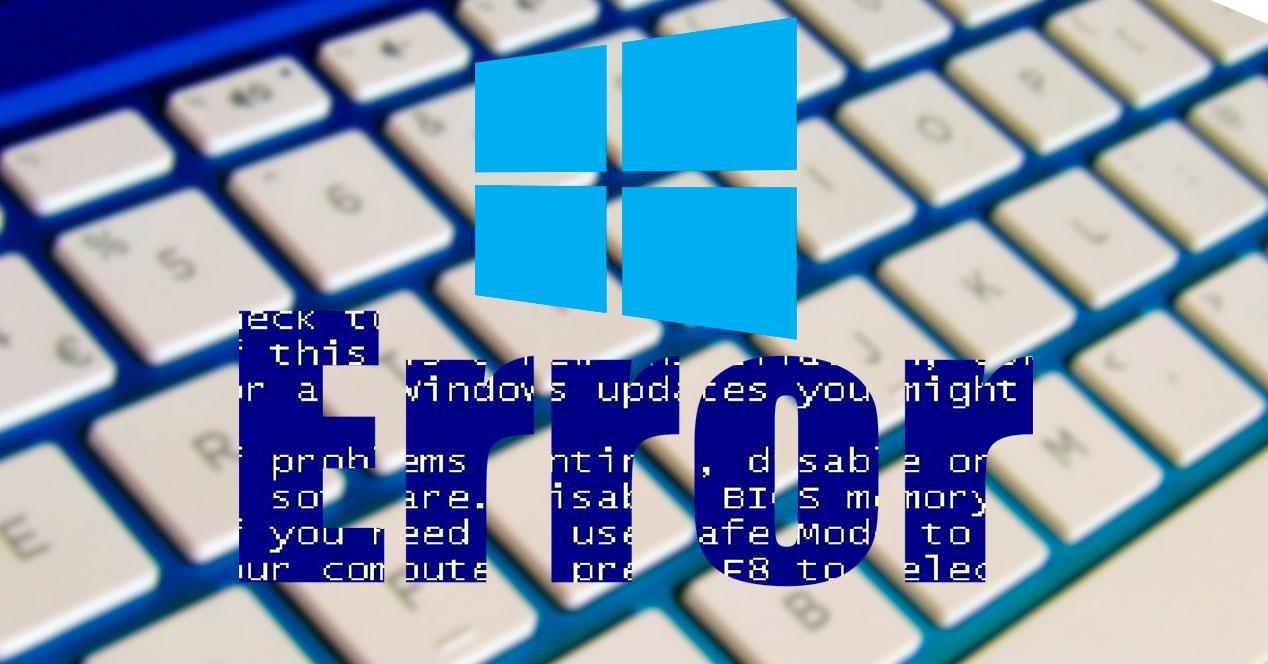 Error actualización Windows Update