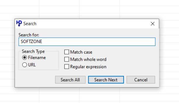 Buscador de HTTP Downloader