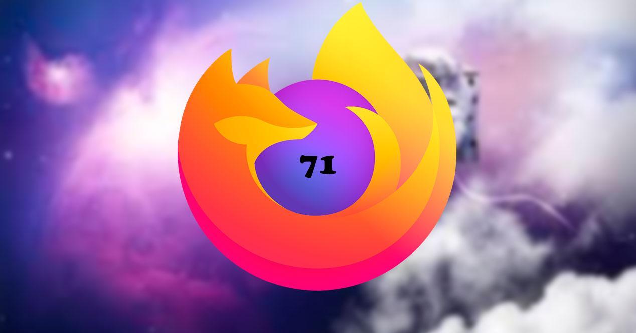 Nueva versión FF 71