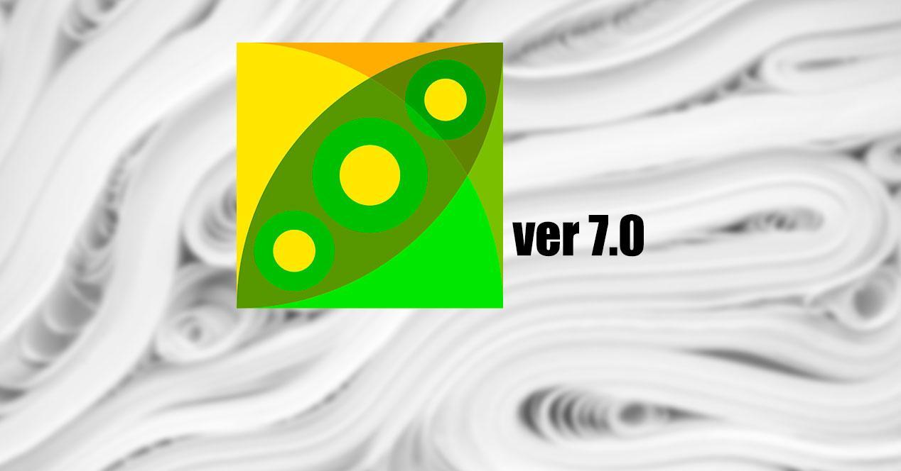 PeaZip versión 7