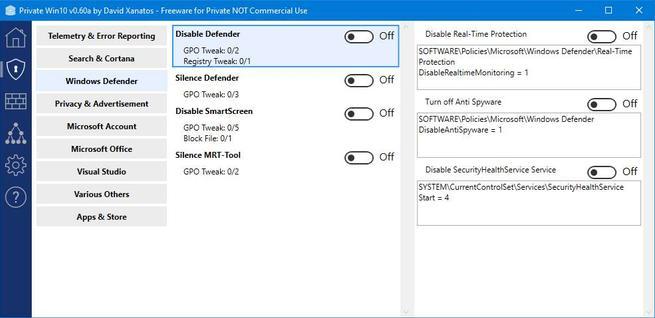 PrivateWin10 - Mejorar privacidad Windows 10 - 4