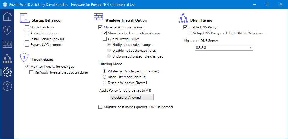 PrivateWin10 - Mejorar privacidad Windows 10 - 9