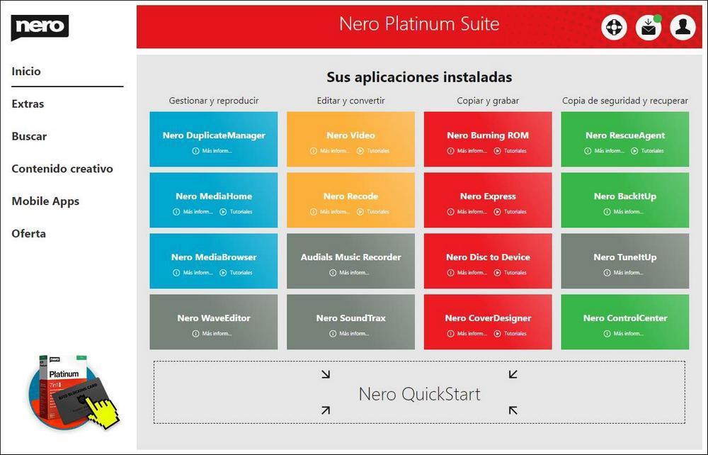Prueba Nero Platinum 2020 - 1
