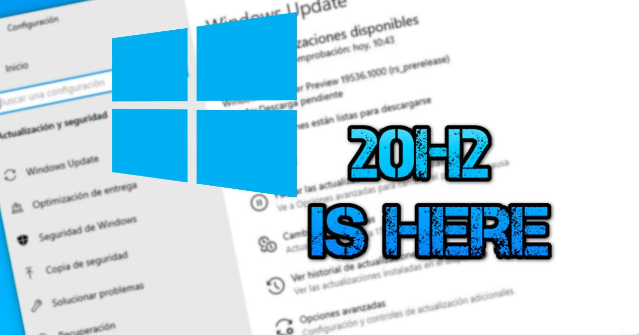 Windows 10 20H2 primera build