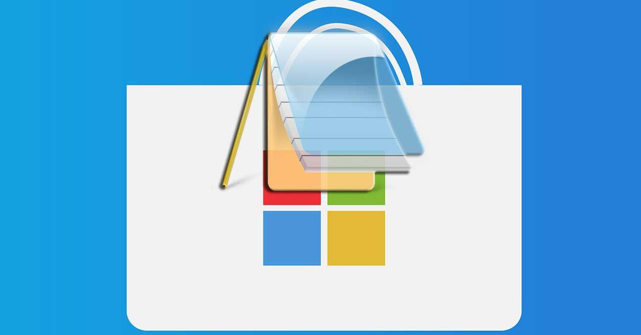 Bloc de Notas Windows