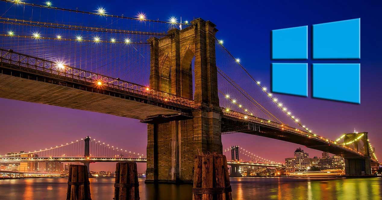 Ciudades fondos Windows 10