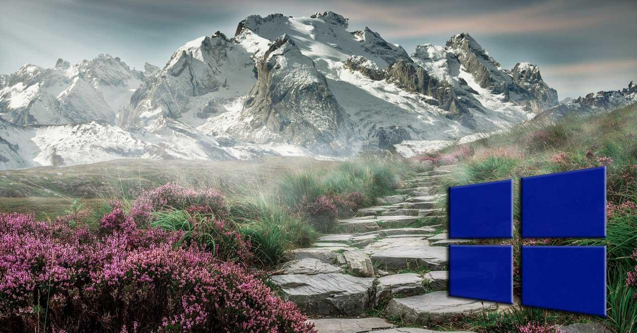 Tema paisajes Windows 10