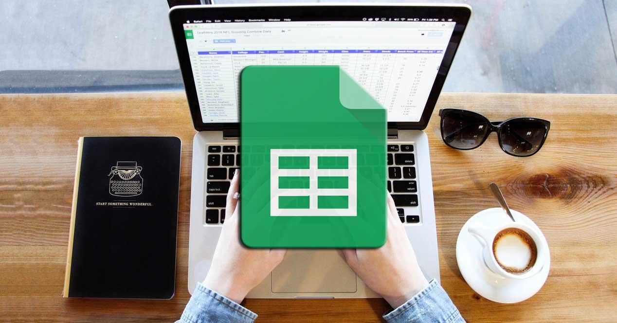 Google Sheets filas columnas