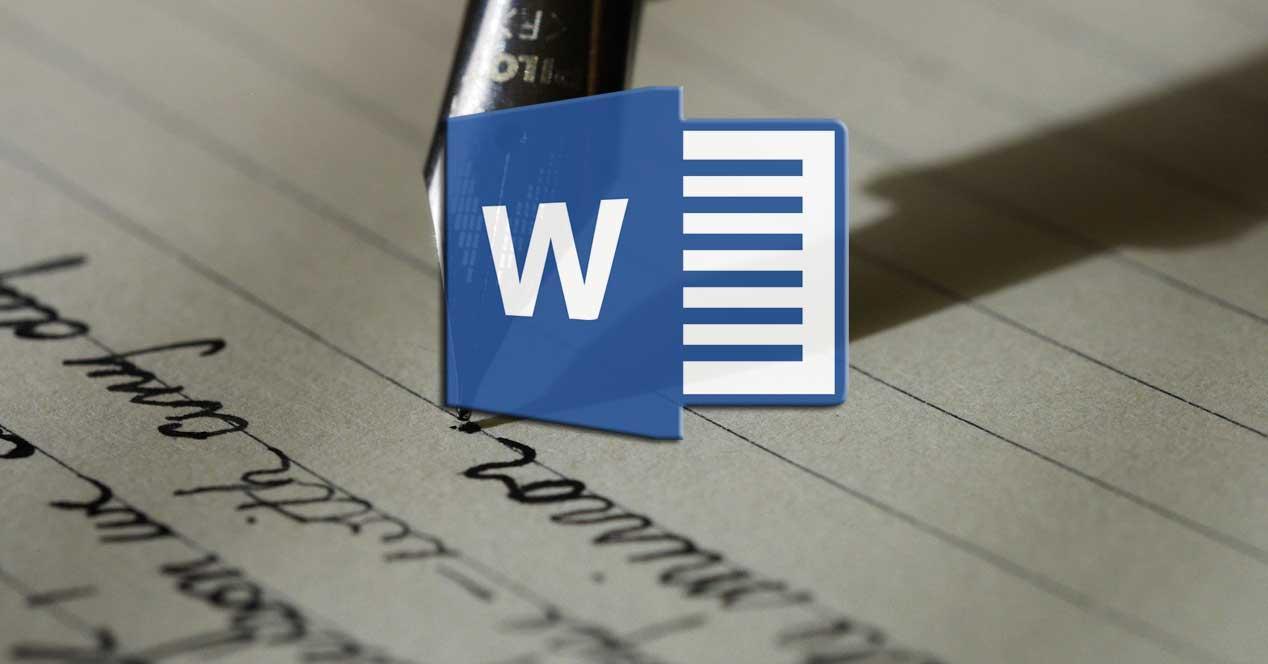 Word fuentes