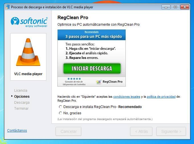 Downloader Softonic adware PC