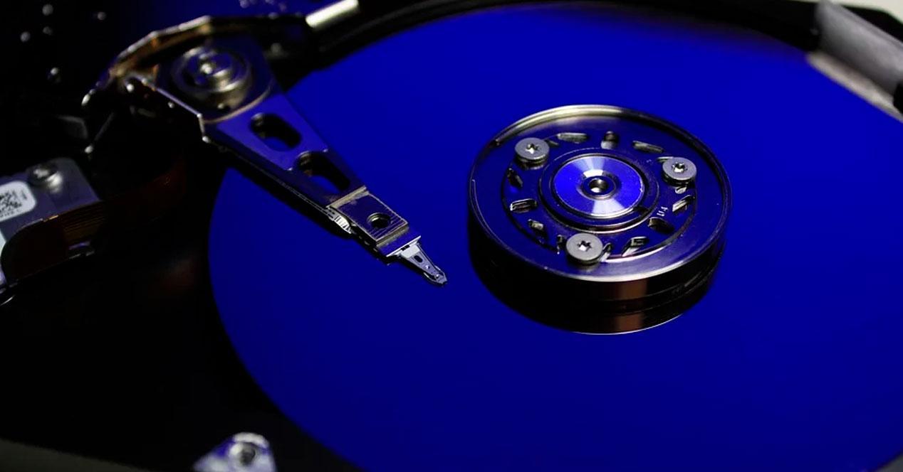 Gestionar disco duro