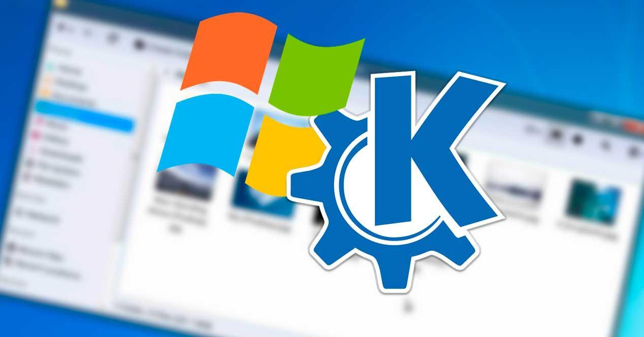 KDE y Windows 7