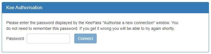 Kee - vincular con KeePass
