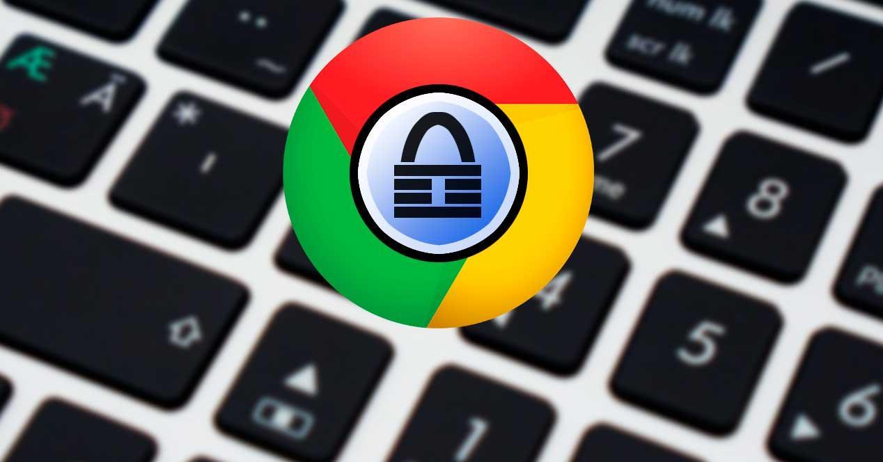 KeePass en Chrome