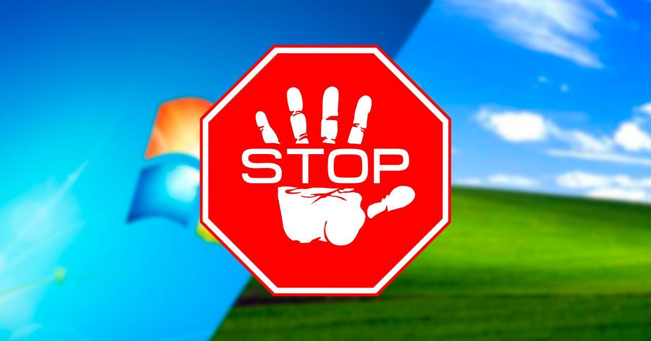Stop Windows 7 XP