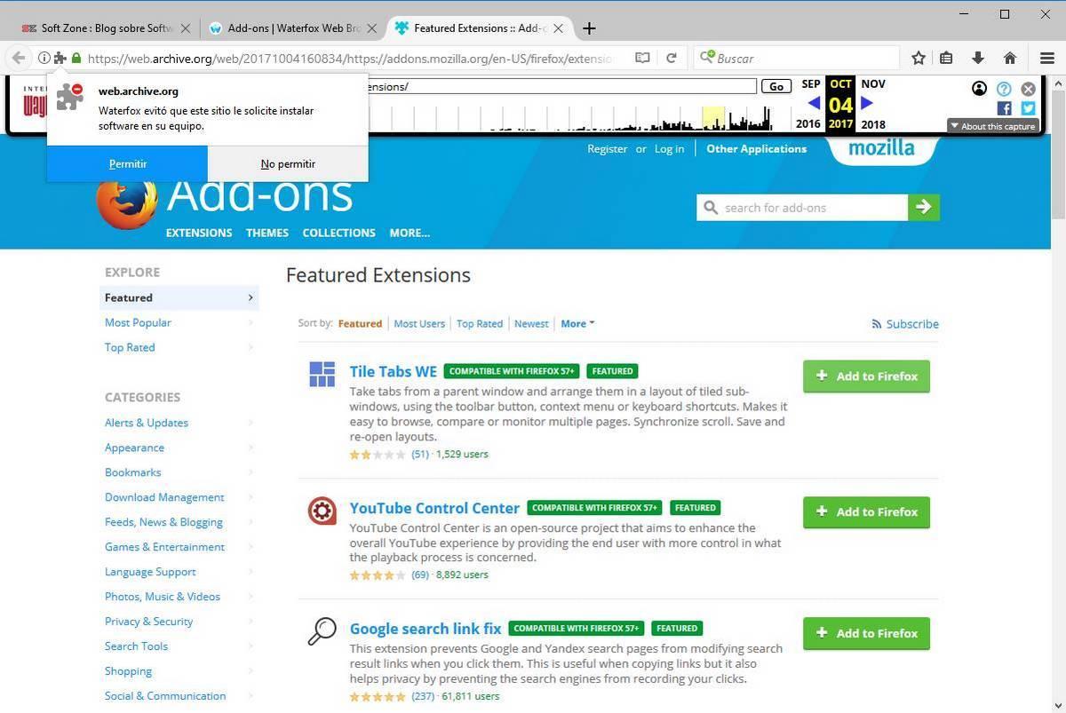 Waterfox alternativa Chrome basada en Firefox - 4