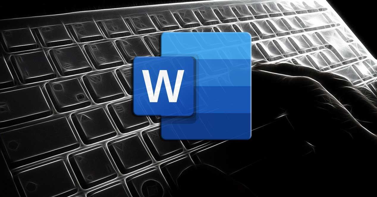 Atajos de teclado Word