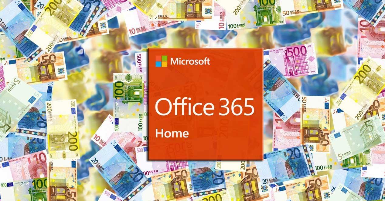 Office 365 dinero