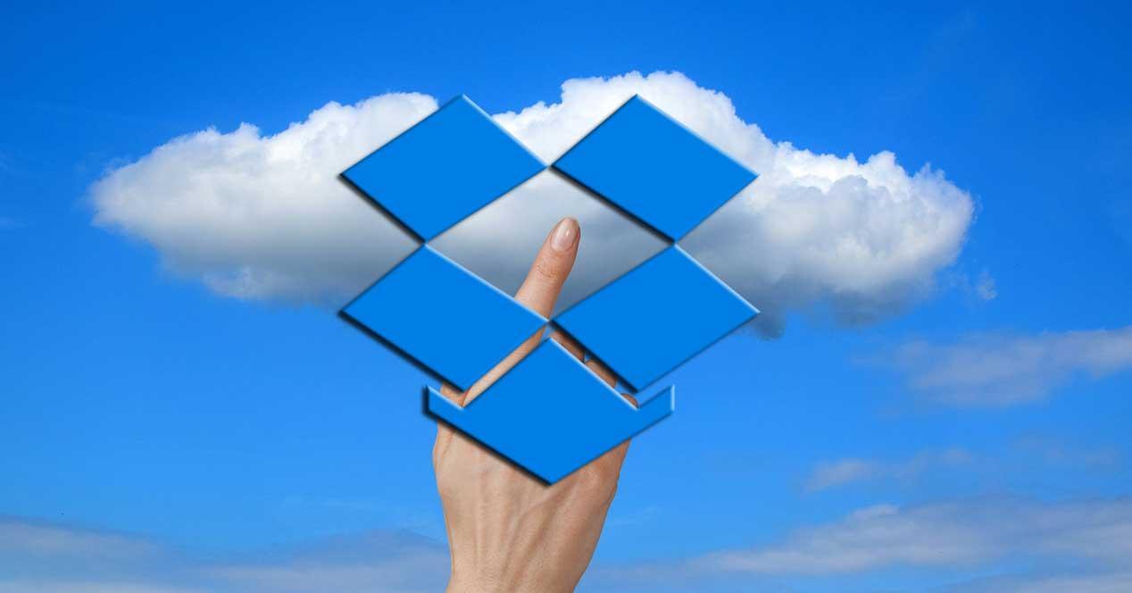 Dropbox enviar a la nube