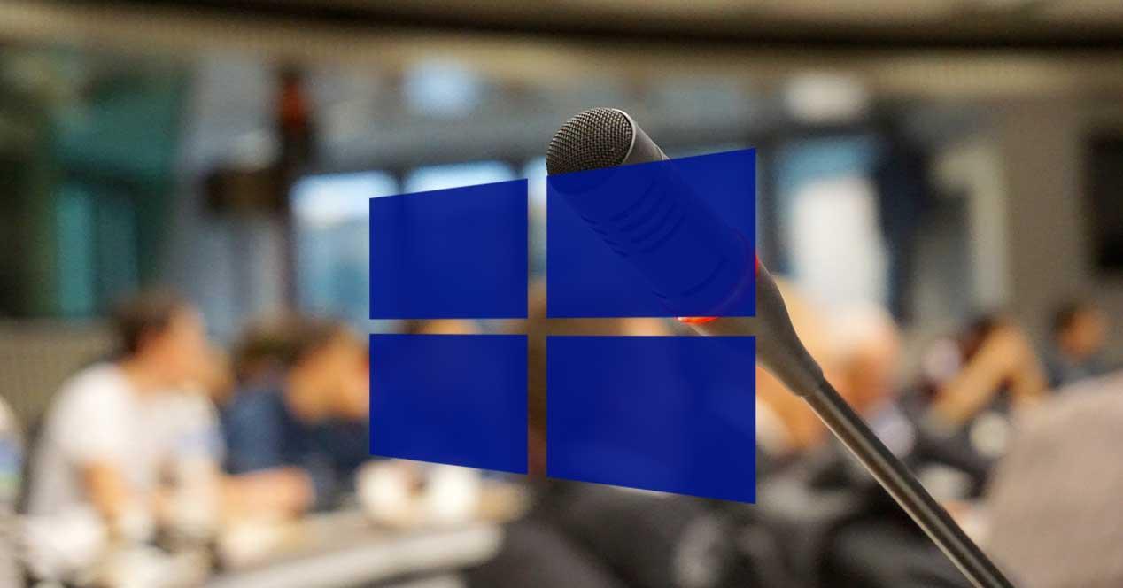 Micrófono Windows