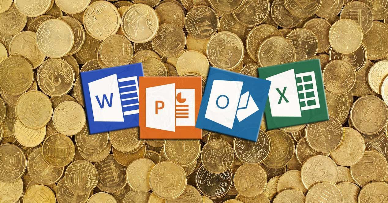 Publicidad Office Windows 10