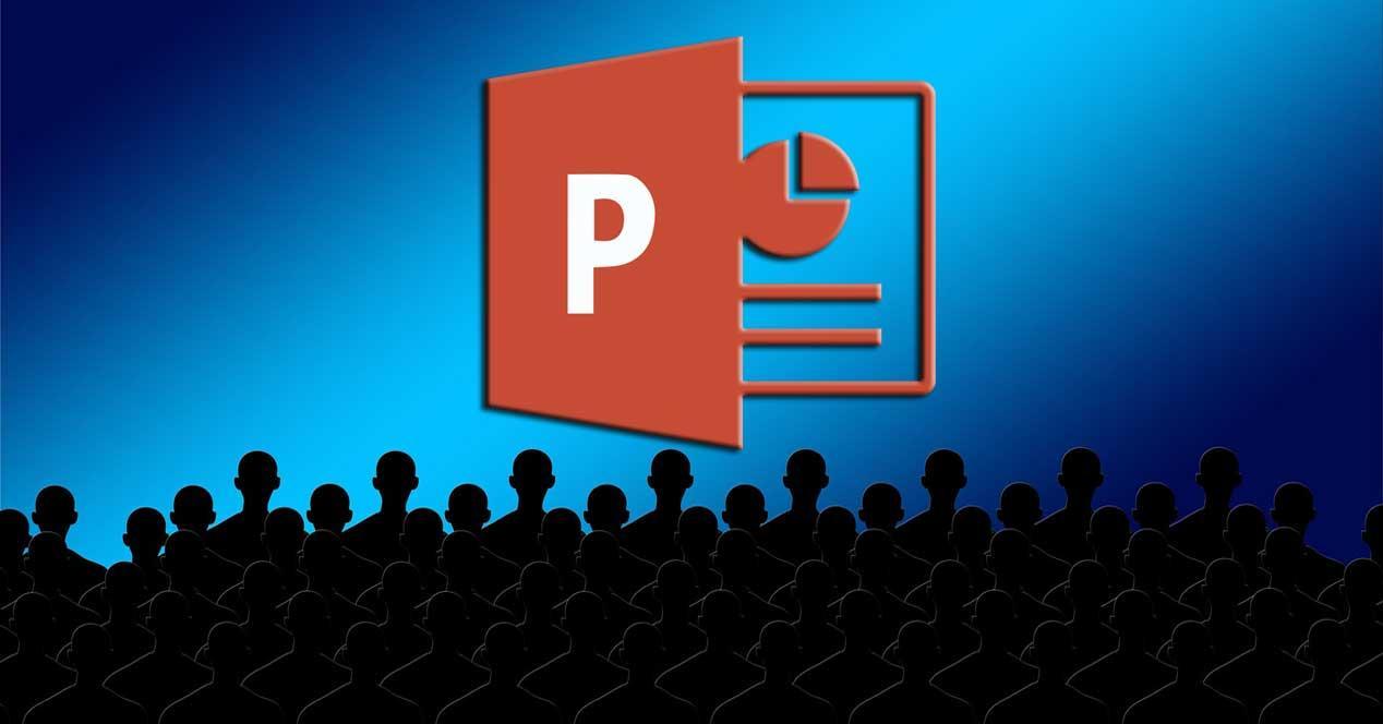PowerPoint modo oscuro