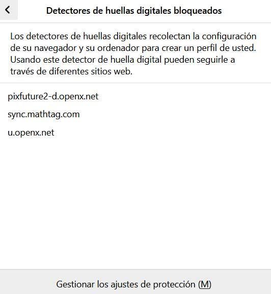 bloqueo Firefox 72