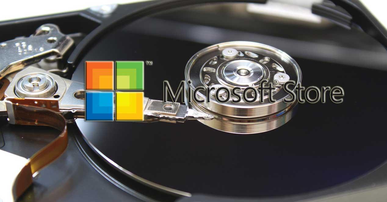 Microsoft Store unidades de disco