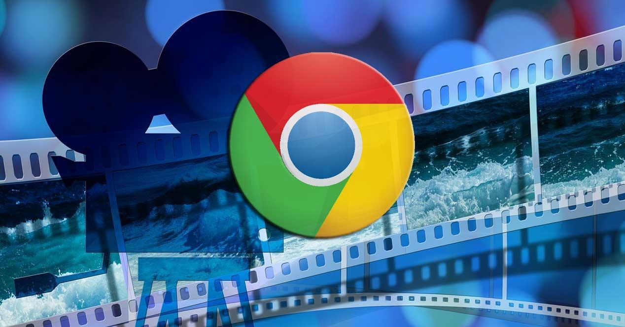 Vídeos en Google Chrome