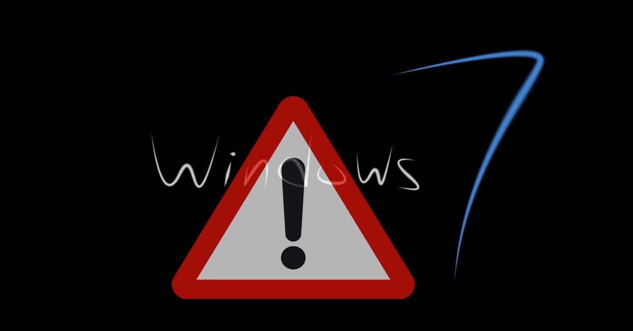 Peligro Windows 7