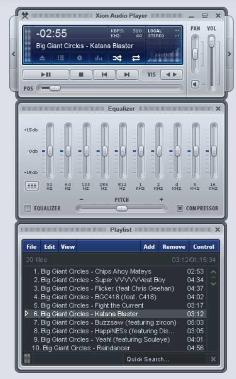 Xion Audio Player
