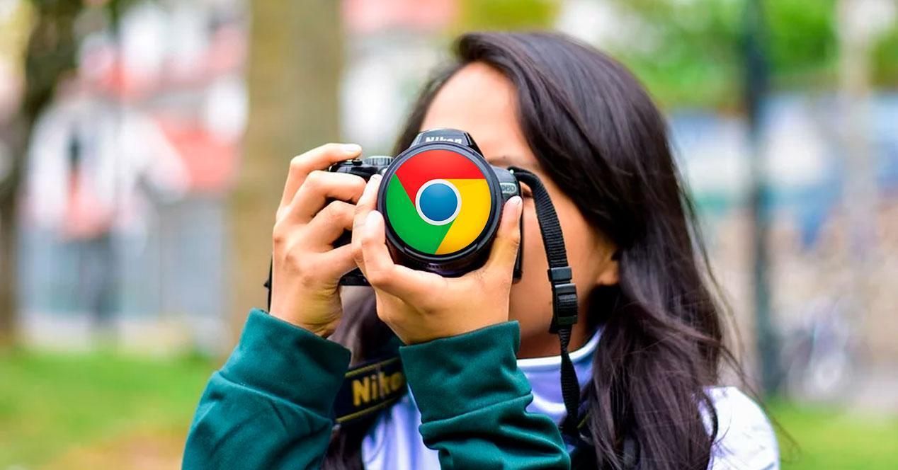 Captura pantalla web completa Chrome