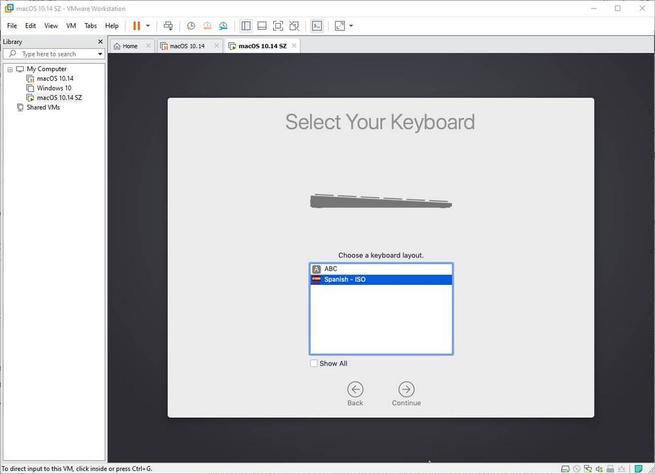Configurar macOS en VMware - 3