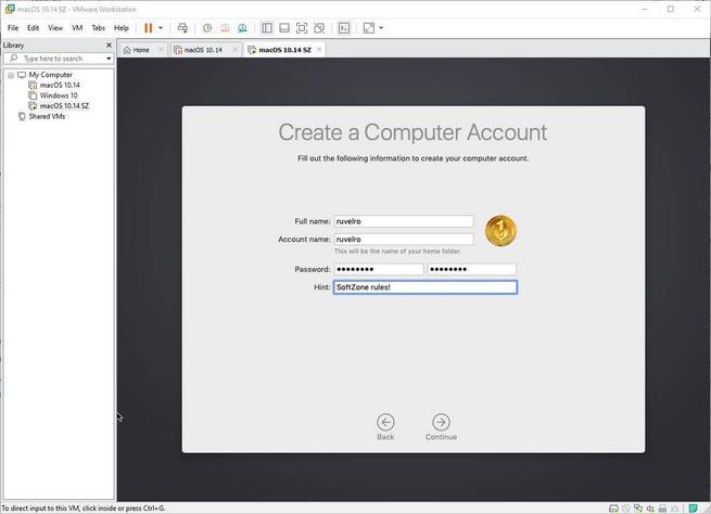 Configurar macOS en VMware - 5